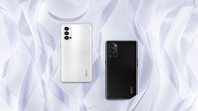 Official renders OPPO Reno 4 Pro