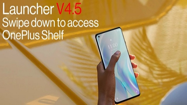 OnePlus Shelf back