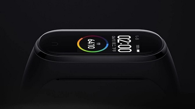 xiaomi mi band 5 teaser screen charger