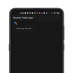 Official Google Assistant routines