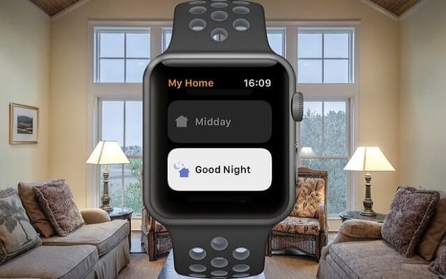 Control HomeKit from your Apple Watch