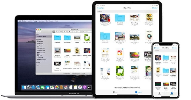 icloud drive devices