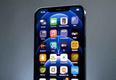 iPhone 12 Pro Max screen test