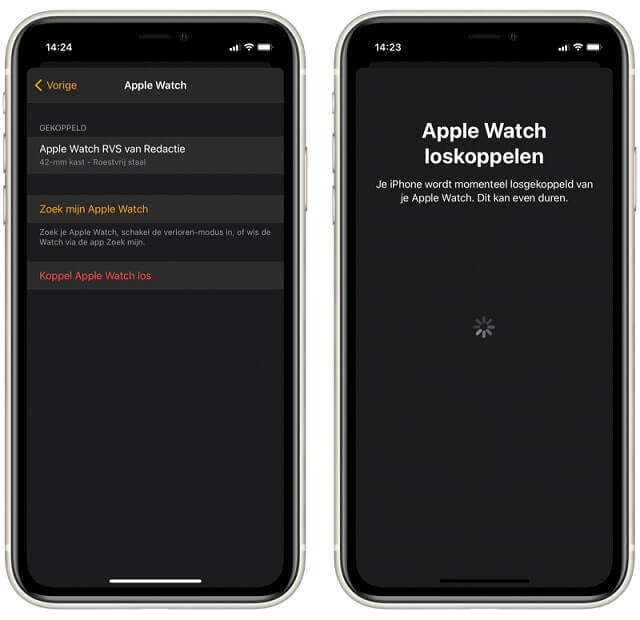 how to pair apple watch